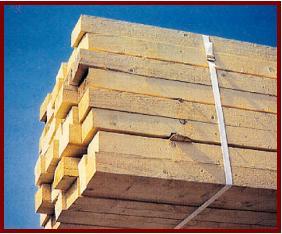 Dřevěné hranoly 200×200
